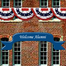 Welcome Alumni Bldg